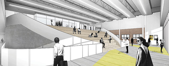 Sexton Campus Renewal Set to Spark Innovation