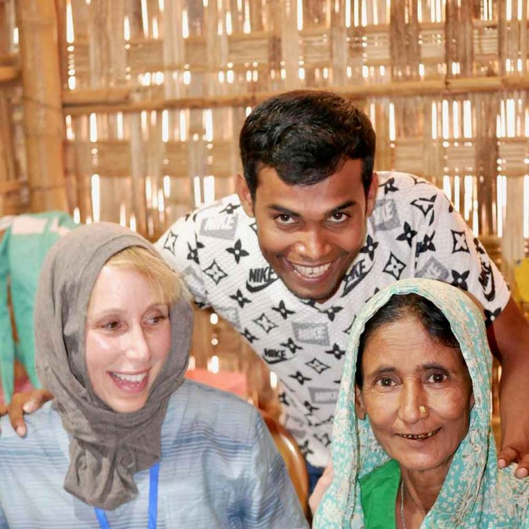 Working with Rohingya refugees